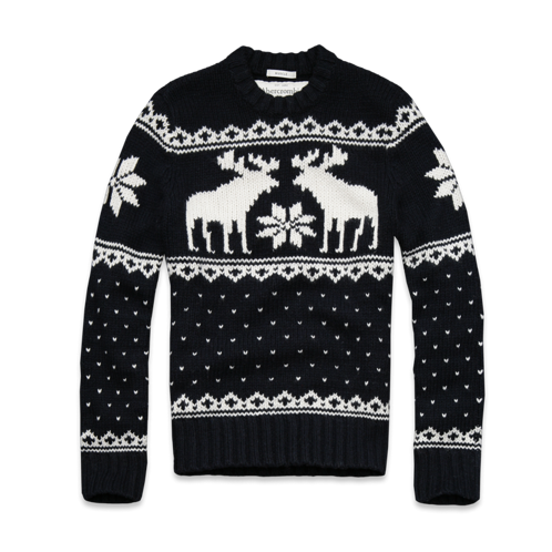 Make An Impression Wallface Mountain Sweater