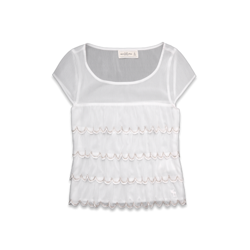 Womens Brittan Shine Top