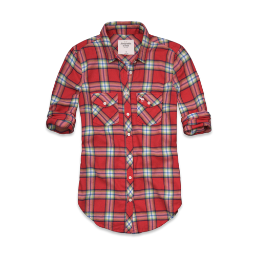 Womens Fallon Flannel Shirt