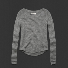 Womens Britt Shine Sweater