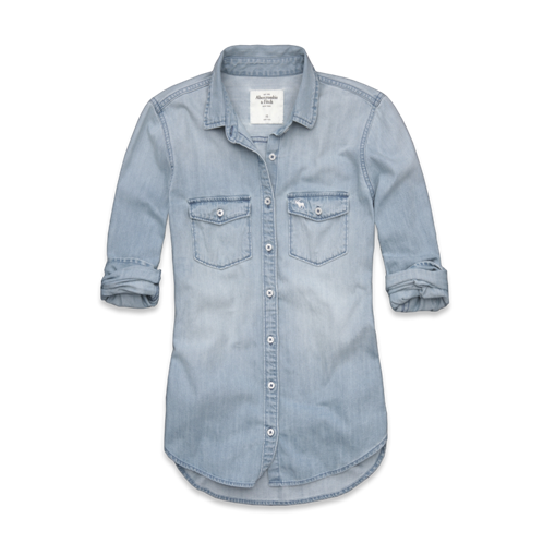 COOL Iris Denim Shirt