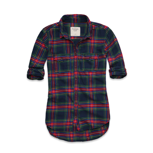 Elicia Flannel Shirt