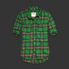 Womens Elicia Flannel Shirt