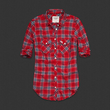 Womens MacKenzie Flannel Shirt
