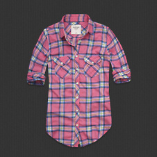 Womens Sarah Flannel Shirt