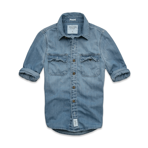 JUST RIGHT Douglass Mountain Denim Shirt