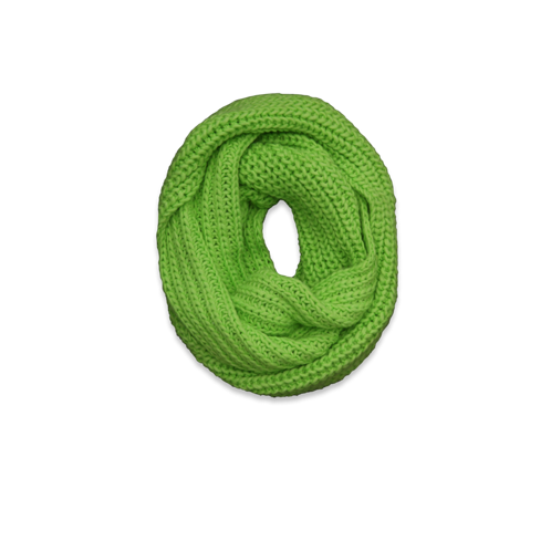Womens Knit Eternity Scarf
