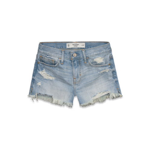 Shorts & Skin A&F High Rise Shorts