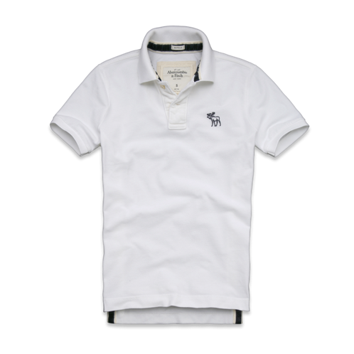 cf1e6337 2012 Abercrombie &Fitch**POLO MENS SHIRT**SIZE L GOODNOW MOUNTAIN POLO
