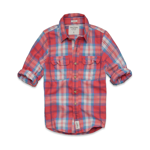 PLAIDS Mount Armstrong Twill Shirt