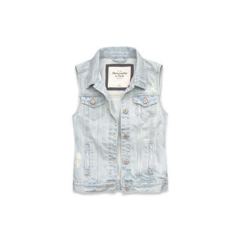 Womens Bridget Denim Vest