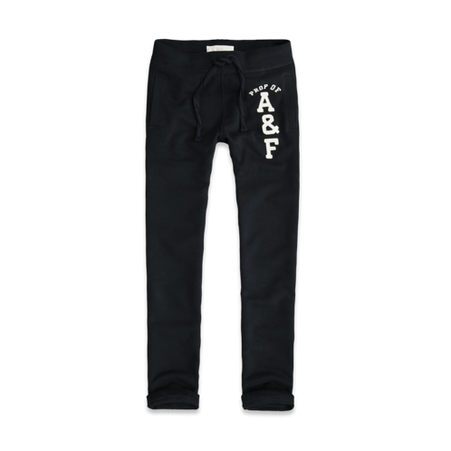 Mens A&F Classic Straight Sweatpants