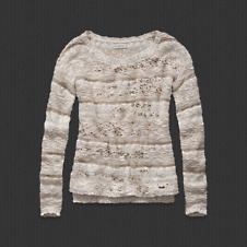 Womens Caroline Shine Sweater