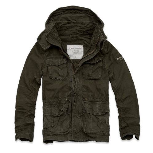 Summer Green Mountain Parka