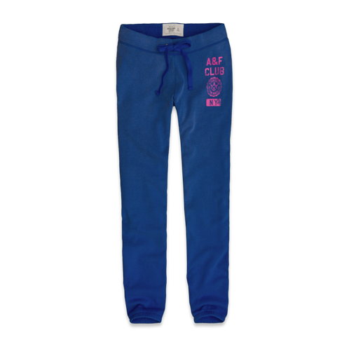 Sweatpants A&F Classic Banded Sweatpants