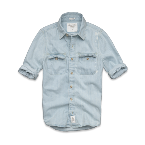 Mens Silver Lake Denim Shirt