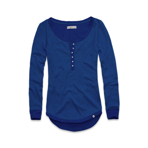 Long Sleeve Elise Henley