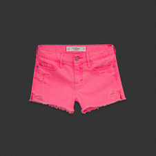 Womens A&F High Rise Shorts
