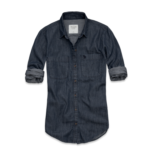Womens Rebecca Denim Shirt
