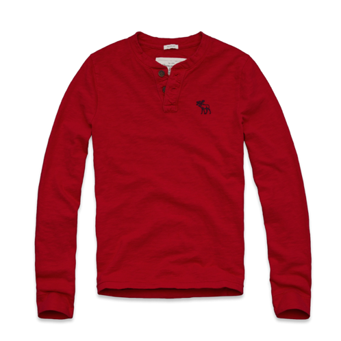 Long Sleeve Tees (off) Lewey Mountain Henley