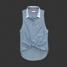 Womens Nicole Denim Shirt