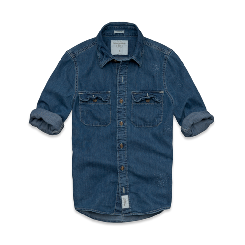 DELETE Your New Favorite Jeans Moody Pond Denim Shirt