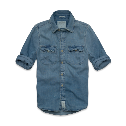 Mens Hoffman Mountain Denim Shirt