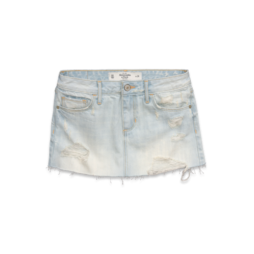 Bottoms A&F Denim Skirt