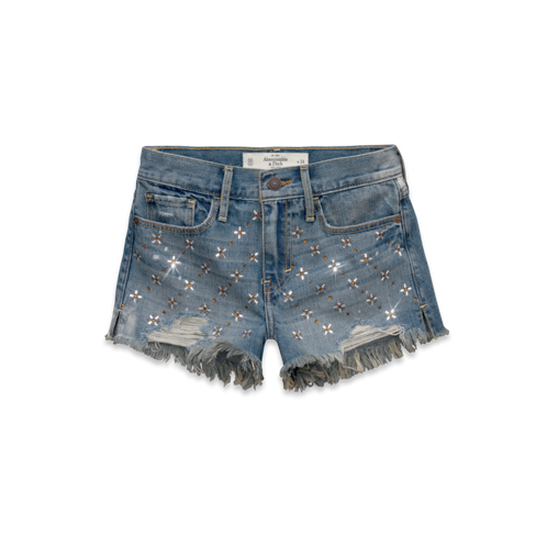 VACATION ANYONE?! A&F High Rise Shorts