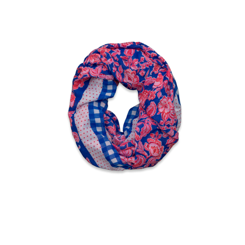 Womens Pretty Patterned Scarf