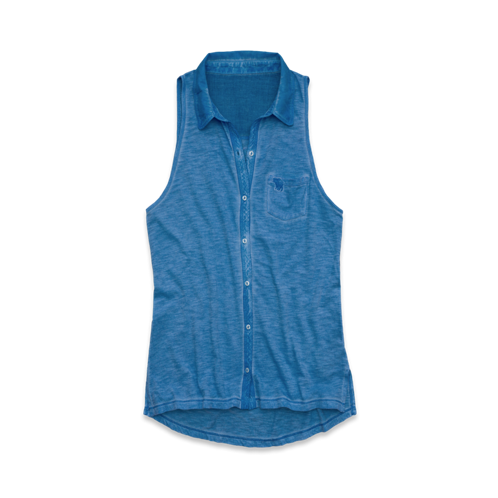 Womens Elise Sleeveless Knit Shirt