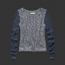 Womens Trisha Shine Sweater