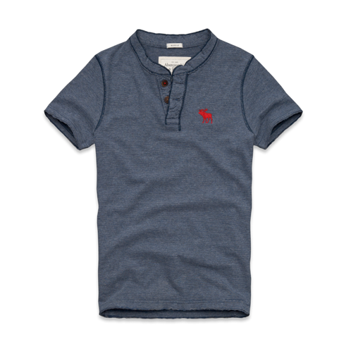 Tees & Tanks Round Mountain Henley