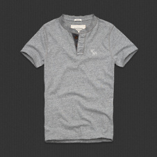 Mens North Notch Henley