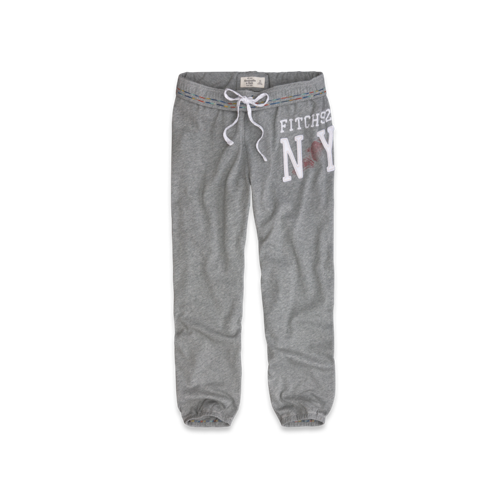 Sweatpants A&F Banded Cropped Sweatpants