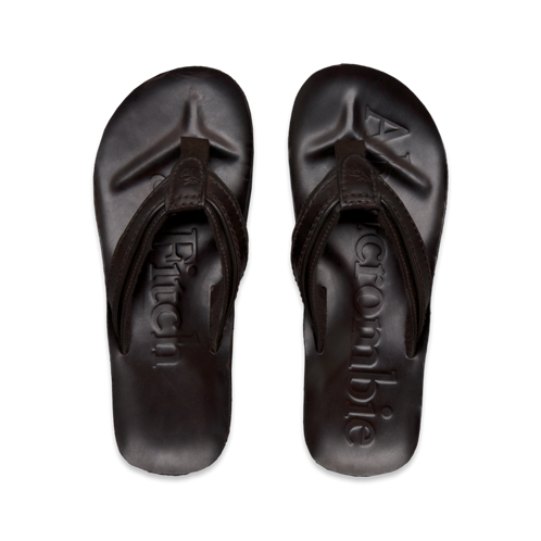 Mens Rugged Spring Flip Flops