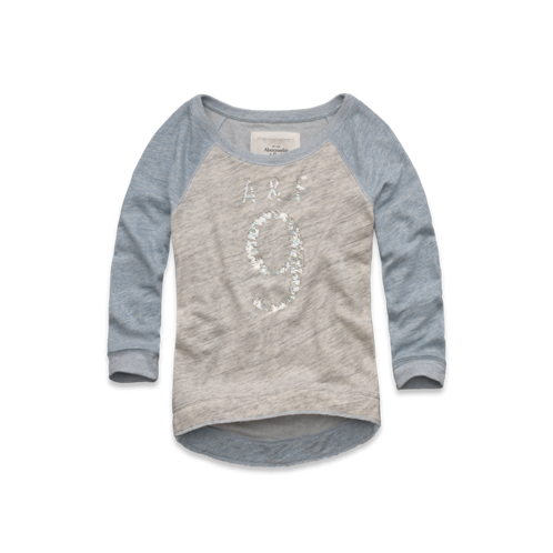 Womens Evette Shine Sweatshirt