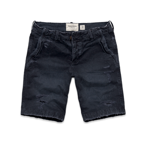 A&F Destroyed Classic Fit Shorts