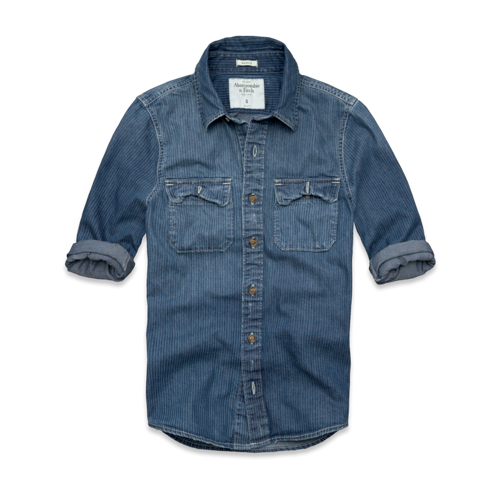 Stripe Denim Shirt Stripe Denim Shirt