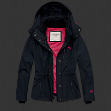 Womens The A&F All-Season Weather Warrior Jacket