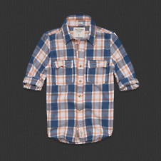 Mens Meacham Lake Twill Shirt