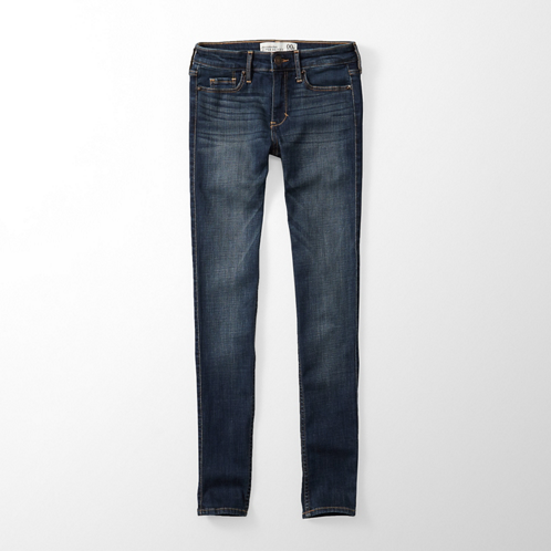 Featured Items A&F Alyssa Super Skinny Jeans