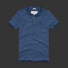 Mens Cobble Hill Pocket Henley