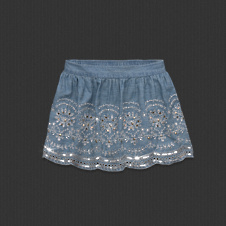 Womens Leigh Shine Skirt