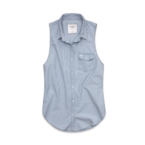 Womens Kaylie Chambray Shirt