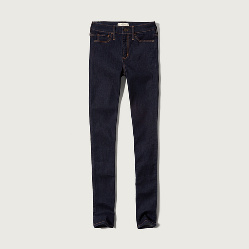 Bottoms A&F High Rise Super Skinny Jeans