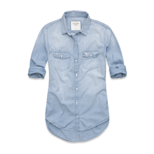 Womens Blythe Denim Shirt