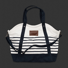 Womens Preppy Summer Tote