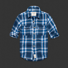 Mens Slide Brook Twill Shirt