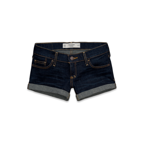 Womens A&F Low Rise Shorts